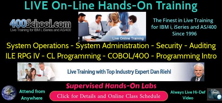 Training from 400 School.com